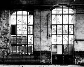 Rasch Factory IV Fotobehang 940930 Steen/Ramen/Landelijk/Industrieel/Modern