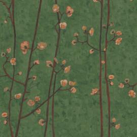 BN Wallcoverings van Gogh 2 Behang 220024 Japanse Bloesem/Takken/Landelijk/Natuurlijk