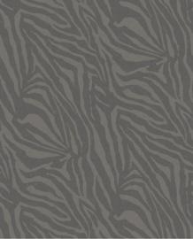 Eijffinger Skin Behang Fotobehang 300602 Zebra Black/Dieren/Huiden/Safari