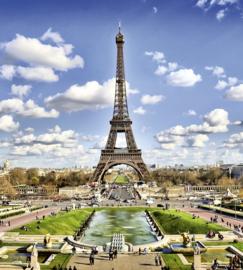 Dimex Fotobehang Paris MS-3-0025 Parijs/Frankrijk/Eiffeltoren