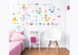 Walltastic Mermaid 45040 Wall Stickers - Dutch Wallcoverings