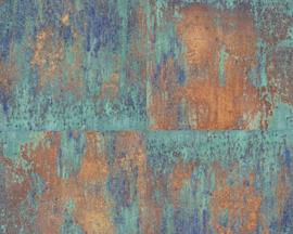 AS Creation Elements Behang 36118-1 Metals/Verweerd/Modern/Landelijk/Metaal Structuur