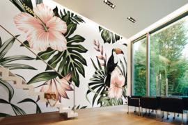 AS Creation Designwalls Fotobehang DD118576 Toucan 1/Vogels/Toekan/Bloemen/Botanical