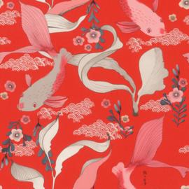 Onszelf Amazing Behang 539844 Koi Karpers/Vissen/Japan/Dieren/Natuurlijk