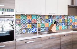 Dimex Zelfklevende Keuken Achterwand Vintage Tiles KL-260-079 Tegel/Vintage