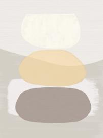 Eijffinger Bold Behang 395891 Balancing Rocks/Sand/Stenen/Modern