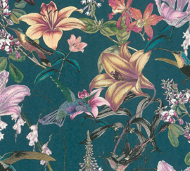 AS Creation Jungle Chic Behang 37701-2 Botanisch/Bloemen/Vogels