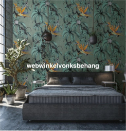 Marburg Smart Art Aspiration Fotobehang 46710 Leilani Green/Apen/Botanisch/Tropical/Bloemen