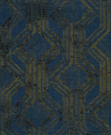 Noordwand Zero Behang 9727 Cristiana Masi/Grafisch/Modern/Etnisch/Blauw/Goud