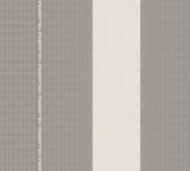 AS Creation Karl Lagerfeld Behang 37848-5 Strepen/Logo/Karl Lagerfeld