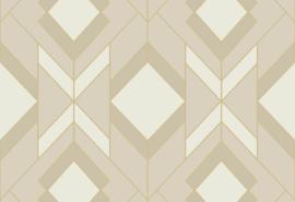 Hookedonwalls Tinted Tiles Behang 29033 Helix/Modern/Grafisch