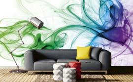 Dimex Fotobehang Cold Smoke MS-5-0290 Modern/Abstract/Rook/Multi