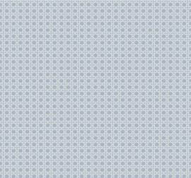 Dutch Wallcoverings Navy, Grey & White Behang BL70922 Vlechtwerk/Modern/Natuurlijk/Blauw