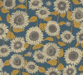 AS Creation New Life Behang 37685-3 Zonnebloem/Bloemen/Modern/Natuurlijk