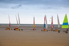 Onsfotobehang Fotobehang MK1122 Sporten/Blokarten/Wind-surfen/Zee