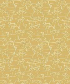 Behangexpresse Havana Behang HA68476 Honden/Tekkels/Dieren/Modern/Geel