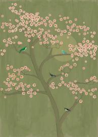 Onszelf Amazing Fotobehang 542110 Boom/Japan/Botanisch/Natuurlijk/Bloesem