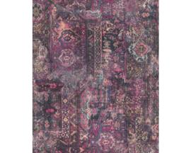 Rasch Barbara Home Collection  Behang 536539 Vintage/Verweerd/Textiel Look