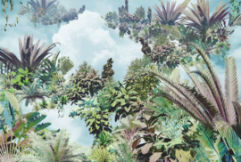 Komar Home Imagine Edition 4 Fotobehang XXL4-1025 Tropical Heaven/Botanisch/Bladeren