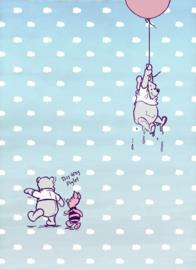 Disney 4-4025 Winnie Pooh Piglet Fotobehang  - Noordwand