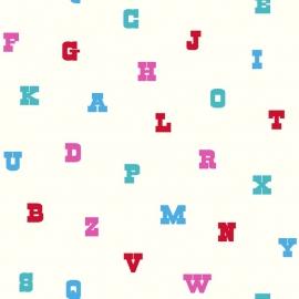 Esta Home Giggle Behang  137325 Letters/Alfabet/Multi/Kinderkamer