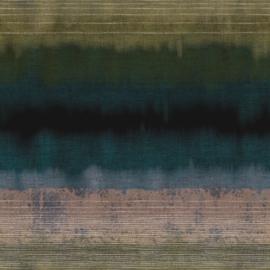 Eijffinger Terra Fotobehang 391561 Bedrock Teal Green/Etnisch/Industrieel Behang