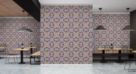 Walls by Patel DD110556 Tangerine 3 Fotobehang - ASCreation