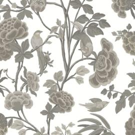 Hookedonwalls Daimon Behang DA23240 Botanisch/Bloemen/Vogels