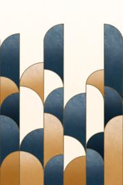 Rasch Salisbury Fotobehang 552164 Art Deco/Modern/Boog/Geometrisch