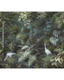 Eijffinger Oasis Fotobehang 317408 Painted Paradise/Fauna/Botanisch/Vogels