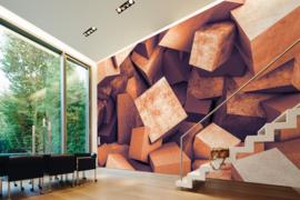 AS Creation Designwalls Fotobehang DD118736 Concrete Blocks 2/Modern/3D/Blokken/Illusion