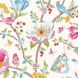 Eijffinger Pip Studio 3 Behang 341000 Romantisch/Bloemen/Landelijk/Vogels