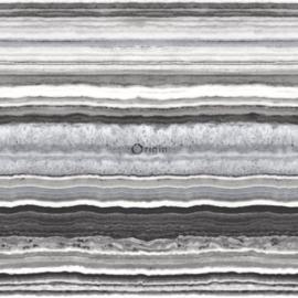Origin Matieres-Stone Behang 349-337238 Marmer/Steen/Modern/Strepen/Natuurlijk