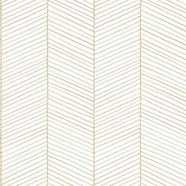 Esta Home Art Deco Behang 156-139135 Visgraat/Strepen/Modern/Natuurlijk