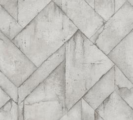 AS Creation Industrial Behang 37741-3 Beton/Grafisch/Modern/Landelijk