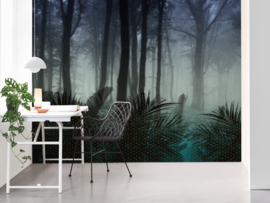 BN Wallcoverings Dimensions Fotobehang 200280 DX Seasons/Winter/Natuurlijk/Bomen/Modern