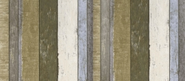 Esta Home Vintage Rules Behang 138253 Hout/Planken/Stoer