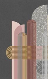 BN Studios/BN Wallcoverings Murals Fotobehang 200358 Milano/Art Deco/Modern/Grafisch