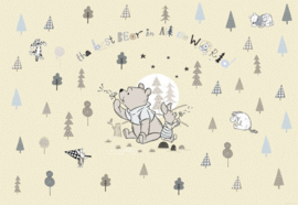 Disney 8-4024 Winnie Pooh Best Bear Fotobehang  - Noordwand