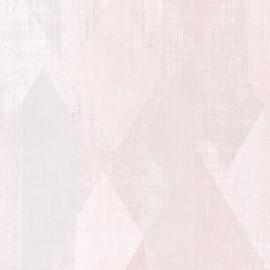 Rasch Galerie Geometrix Behang GX37636 Geometrisch/Ruiten/Vintage/Modern/Roze