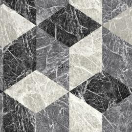 Origin Raw Elegance Behang  343-347318 Modern/Ruit/3D Wyber