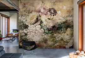 Hookedonwalls Plains & Panels Fotobehang/Panel 11840 Klassiek/Romantisch/Bloemen/Botanisch