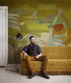 Van Gogh BN Wallcoverings Behang 30540 Boeken/Schilderij/Kunst Fotobehang