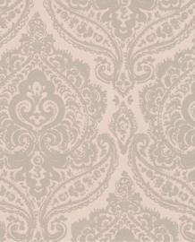 Eijffinger Salisbury Behang 355056  Barok/Klassiek/Ornament/Poederroze