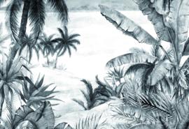 Hookedonwalls Blooming Digital Fotobehang BLD22781 Tropical/Natuurlijk/Landschap