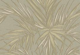 Hookedonwalls Tropical Blend Behang 33612 Kenzia/Botanisch/Bladeren/Natuurlijk