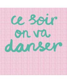 Eijffinger Rice Behang 359165 Tonight we will Dance/ Pink Fotobehang