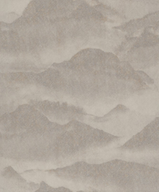 BN Wallcoverings/Voca Zen Behang 220312 Misty Mountain/Bergen/Mist/landschap/Natuurlijk/Modern
