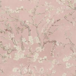 BN Wallcoverings van Gogh 2 Behang 220061 Amandelbloesem/Takken/Romantisch/Roze