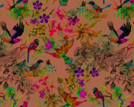 AS Creation Living Walls by Patel Fotobehang DD110187 Funky Birds3/Botanisch/Vogels Behang